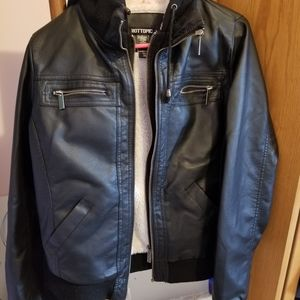 Hot Topic faux leather jacket